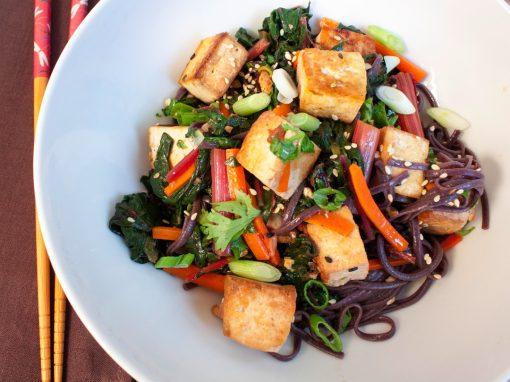 Tofu Stir-Fry with Vegetables